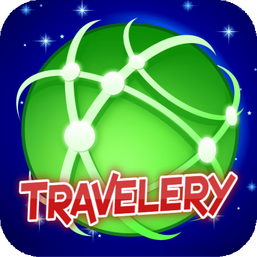 Travelery fun travel at home - sliding block puzzles games free no in app...