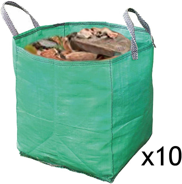 Entrega directa y rápida de fábrica Spares2go - Bolsa de almacenamiento almacenamiento almacenamiento y reciclaje (resistente, 120 L, 10 unidades)  artículos de promoción