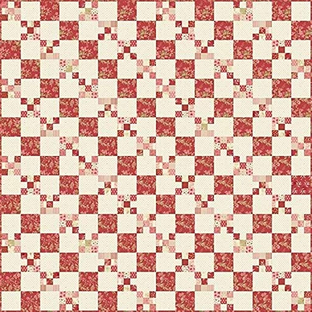 Laundry Basket Quilts LBQ-0258-P Cranberry Chain Pattern