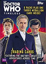2016 Topps Doctor Who Timeless EXCLUSIVE Factory Sealed Blaster Box with TARDIS MEDALLION Card! Look for Autographs, Costume Pieces & Relics! Capture the Doctor's Greatest Adventures Across Time!