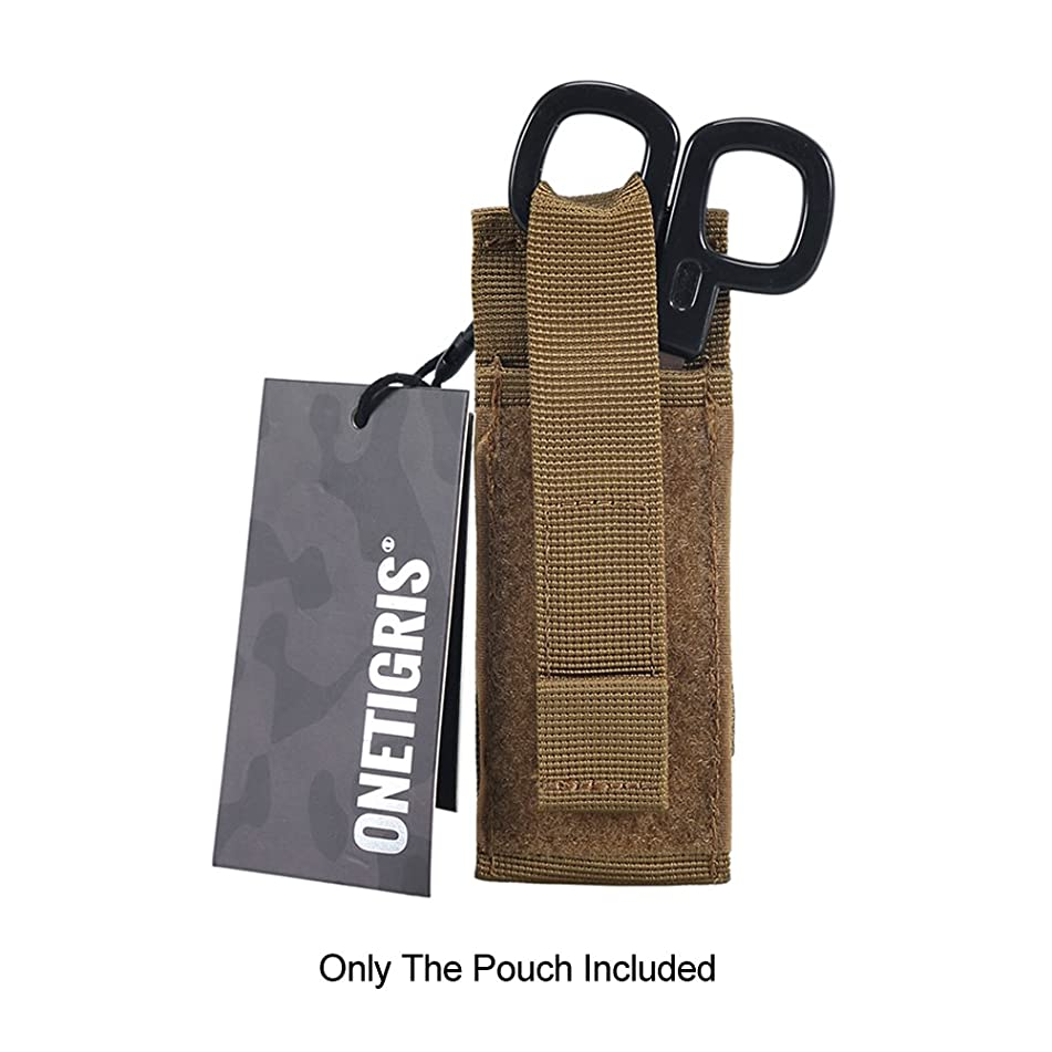 OneTigris Medical Shears Pouch Tactical EMT Scissor Sheath MOLLE Hand Tools Pouch