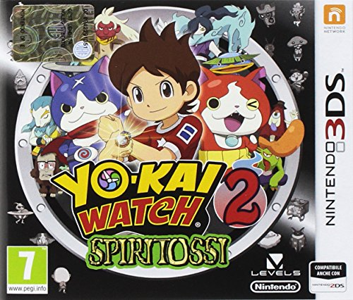 Yo-Kai Watch 2 Spiritossi - Nintendo 3DS [Importación italiana]