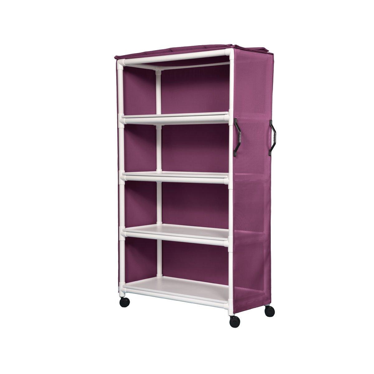 Std Line Linen Cart - Wineberry Mesh Four Dedication Max 73% OFF 45X20 Shelves