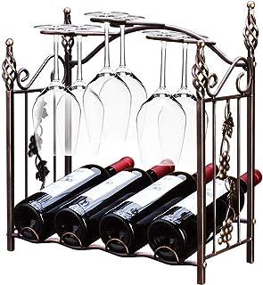 LXLA- Debajo del Gabinete 14 Soporte De Exhibición del Estante De Cristal De Vino Metal Hierro Sostenedor De Almacenamiento Colgante del Vino Stemware Color : Blanco
