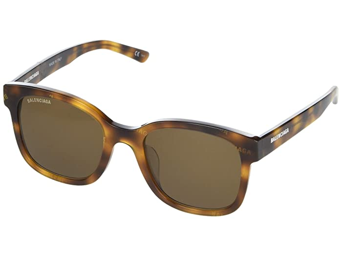 Balenciaga  BB0076SK (Havana) Fashion Sunglasses