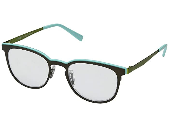 Al Dente (Dark Green/Mint/Green) Reading Glasses Sunglasses