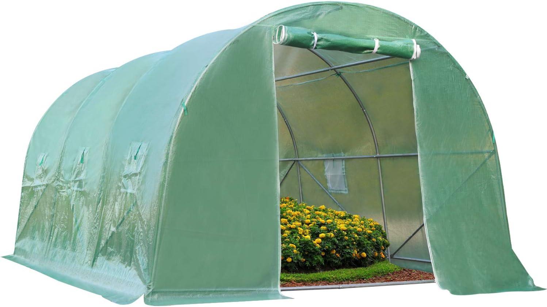 Max 62% OFF 15'x7'x7' overseas Greenhouse Steel Indoor Greenho and Outdoor