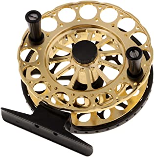 Homyl Ice Fishing Reel Saltwater Freshwater Fly Reels Fishing Vessel Wheel F80/F90
