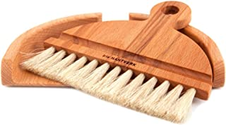 handcrafted table dustpan and brush by Iris Hantverk