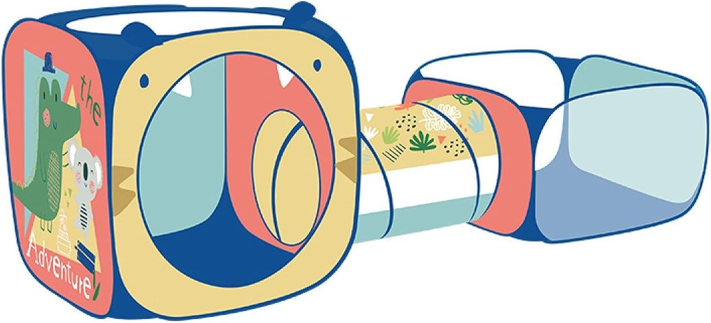 Kinder Zelt Haus Cartoon Spiel Haus Baby Spielzeug Crawl Tunnel Rohr Indoor Ozean Ball Pool