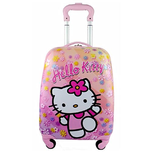 93b351e303ab Children Kids Holiday Travel Character Suitcase Luggage Trolley Bags 18