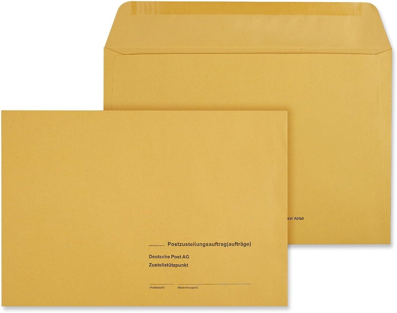 500 x Äußere Postzustellungs-Hüllen Umschlag Postzustellungshüllen Umschläge 172x250 172x250 172x250 mm Postzustellungsumschläge 6492010 B00MA60A9S   Haltbarkeit  877268
