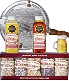 Amish Country Popcorn   6 Quart Whirley Pop Stovetop Popcorn Gift Set   Old Fashioned with Recipe...