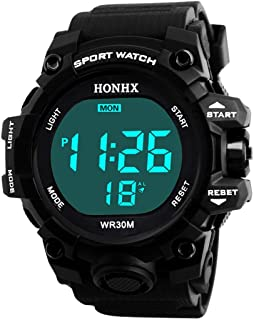 Men Watch,Pocciol 2018 1PC Men Fashion Stainless Steel Sport Cool Quartz Hours Wrist Analog Cool Watch