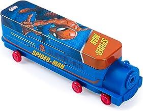 Spiderman Crayon Cas, Grand Capacité Papeterie Boîte de rangement, Cartoon Trousse de rangement contenir, pour le rangemen...