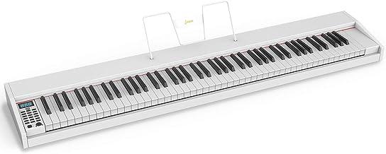 LAGRIMA LAG-610 Full Size Key Portable Digital Piano, 88 Key