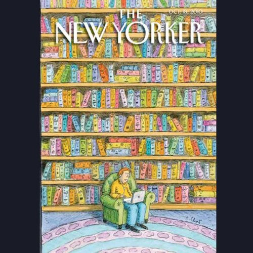 The New Yorker, October 18th 2010 (Sean Wilentz, William Finnegan, Alex Ross) copertina