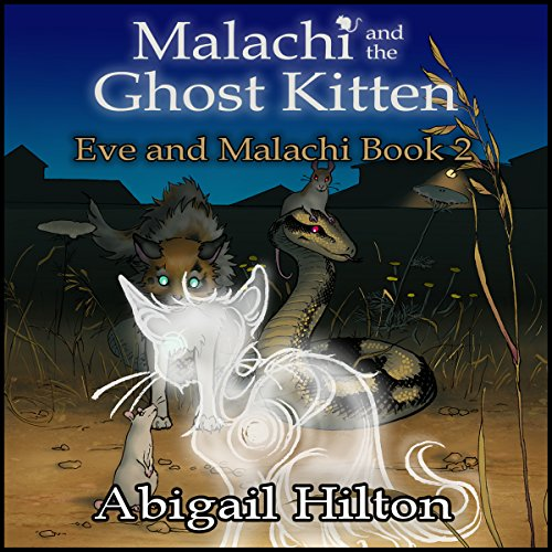 Malachi and the Ghost Kitten audiobook cover art