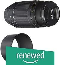 (Renewed) Nikon 1928 AF 70-300mm f/4-5.6G Telephoto Zoom Lens for Nikon DSLR Camera (Black)