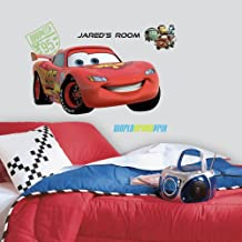 Asian Paints Nilaya Cars 2 Lightening Giant Wall Sticker W/Personalization