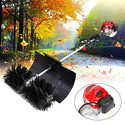 Best Price Hand Held Sweeper, 52cc 2 Stroke Gas Power Sweeping Broom Cleaner Tools Kit for Cleaning ...