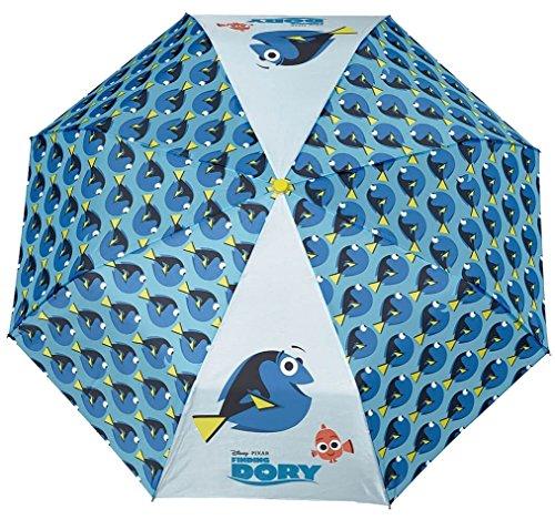 Disney Pixar Perletti Kinderschirm Regenschirm Taschenschirm Reiseschirm Handschlaufe + Schutzhülle/Tasche (Findet Dory)