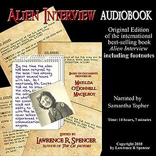Alien Interview audiobook cover art