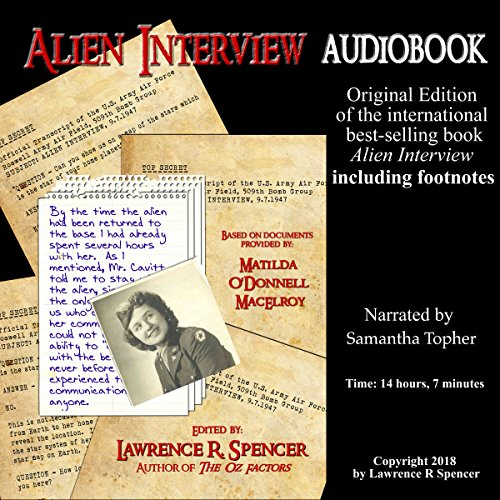 Alien Interview Audiobook with Footnotes