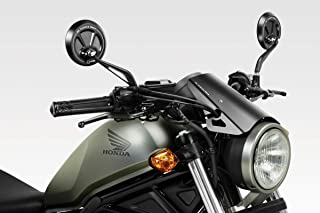 CMX500 Rebel 2017/19 - Kit Windscreen 'Exential' (S-0799) - Aluminum Windshield Fairing - Hardware Fasteners Included - De Pretto Moto Accessories (DPM Race) - 100% Made in Italy