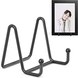 TR-LIFE Plate Stands for Display – 3 Inch Plate Holder Display Stand + Metal Frame..