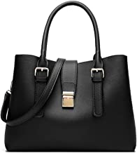 Women Leather Handbag Tote Bag Shoulder Purse Soft Satchel Bags For Lady,Designer Top Handle Cross Body