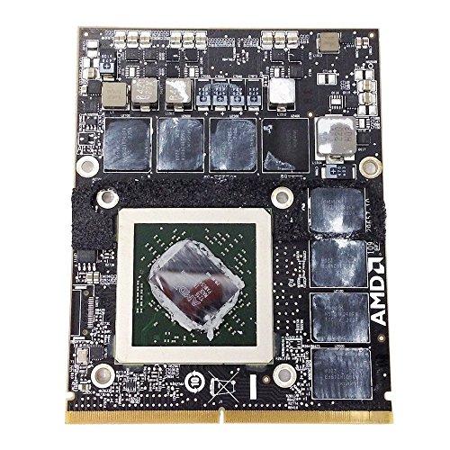 Apple iMac 2011 A1311 A1312 21.5 27 pulgadas All-In-One PC Tarjeta gráfica de vídeo AMD ATI Radeon HD 6970M HD6970M GDDR5 2 GB Actualización MXM VGA Board 109-C29657-10 piezas de repuesto