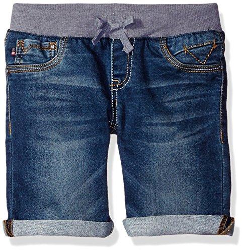 Vigoss Girls' Knit Waist Bermuda Short, True Blue,4