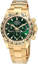 rolex watches green dial