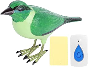 Dibiao Draadloze Afstandsbediening Deurbel Schattige Vogelvormige Welkomstvogels Zingen Ringgong Voor Thuisgebruik