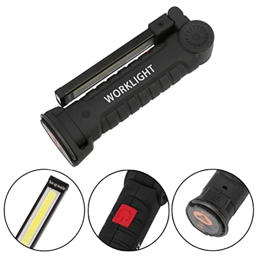 Gusspower USB Recargable LED COB Lámpara de Trabajo Linterna de mano – COB LED Linterna Luces