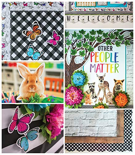 Schoolgirl Style - Woodland Whimsy Collection, Classroom Décor, 374 Pieces (145157)