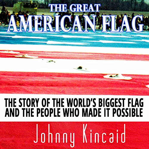 The Great American Flag audiobook cover art