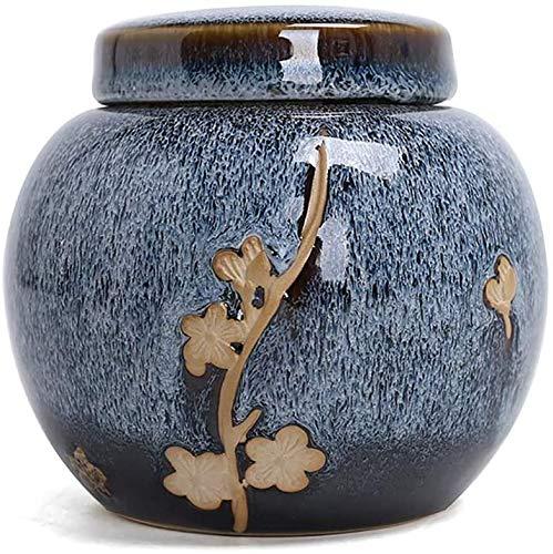 AWAING Cimetière Urne pour Chien Urnes pour Cendres Humaines Urne funéraire for adultes et Pet Ashes, humaine Petit Urnes Funéraires