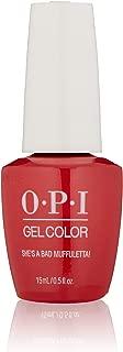 OPI GelColor, Gel Nail Polish, Red