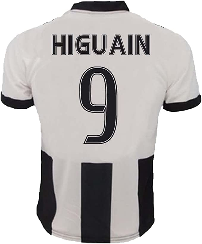 Maglietta Jersey Calcio Juventus Gonzalo Higuain 9 Replica per uomo autorizado