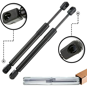Coupe, W//O Spoiler 2 Qty Fits Chevrolet Camaro 2010 To 2015 Rear Trunk Lift Supports Lift Supports Depot