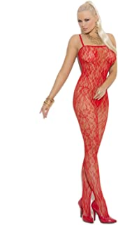 ZEBRA Animal PRINT Halter Bodystocking RED /& BLACK Cut Out Sides Crotchless OS