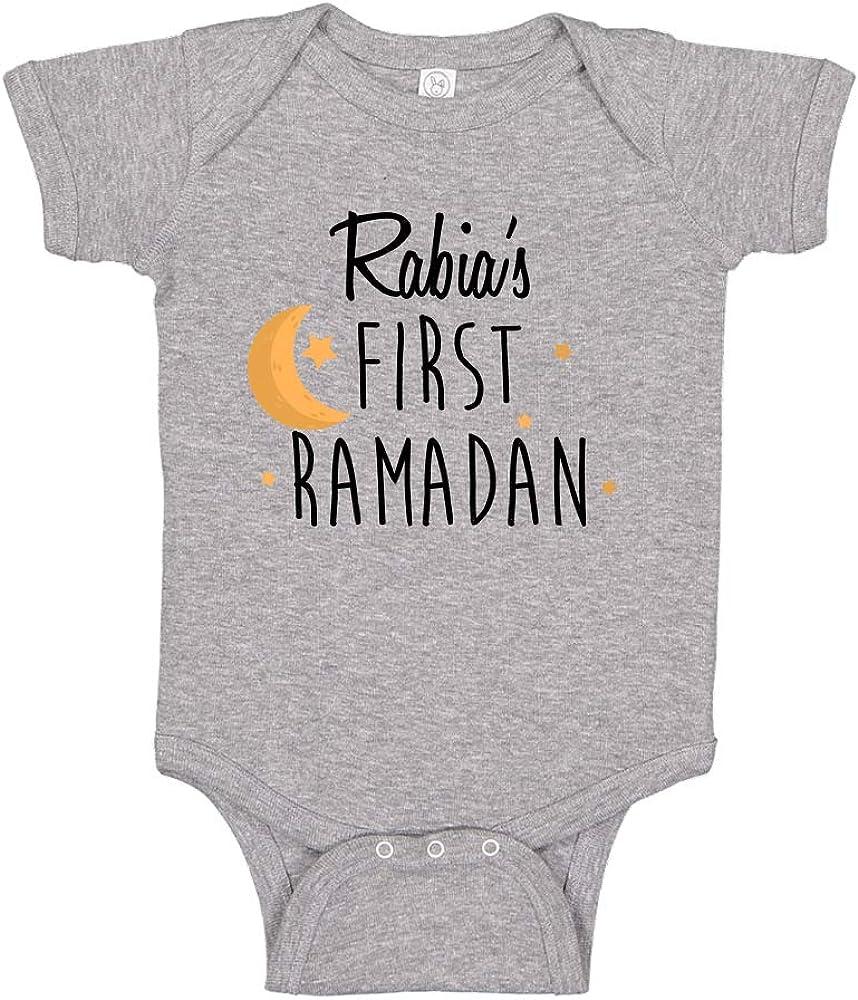 Ramadan Bodysuit Vest Baby Shirt Boy Girl Unisex New Baby Baby Gift Personalised My First Eid 1st Eid Gift Baby Grow