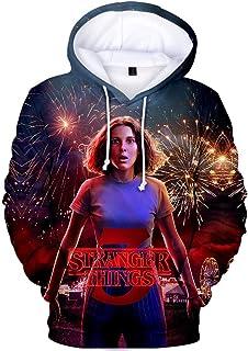 Men's Hoodie Stranger Things Season 3 Sweatshirt Tv Series Stranger Things 3d Print Winter Warm Hoodies Tops