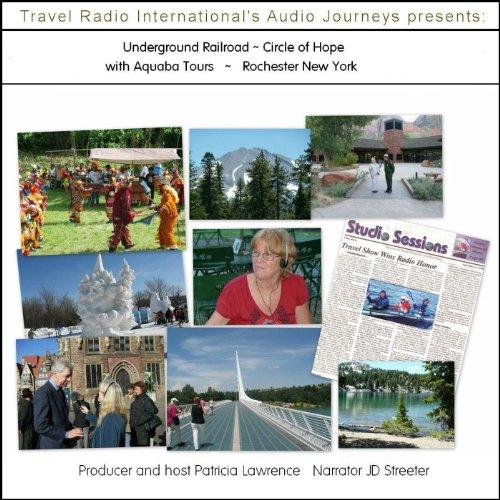 Audio Journeys: Underground Railroad, Rochester, New York cover art