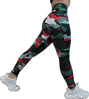 High Waisted Leggings with Pockets - Workout Leggings for Women Stretch Power Flex Yoga Pants - Full&Capri