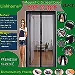 Linkhome 72-Inch(w) X 80-Inch(h) Magnetic Screen Door