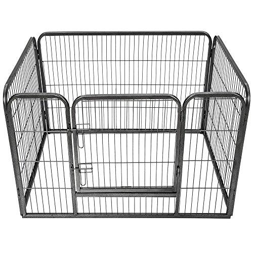 TecTake Recinto grande per cuccioli esterno recinto per...