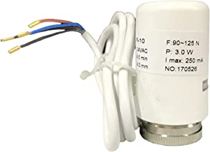 4-wire Thermal Actuator for Radiant Floor Heating Manifold